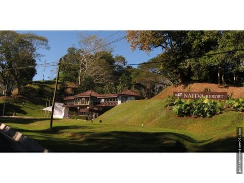 lo65 vendo lote en condominio nativa resort en tarcoles crc