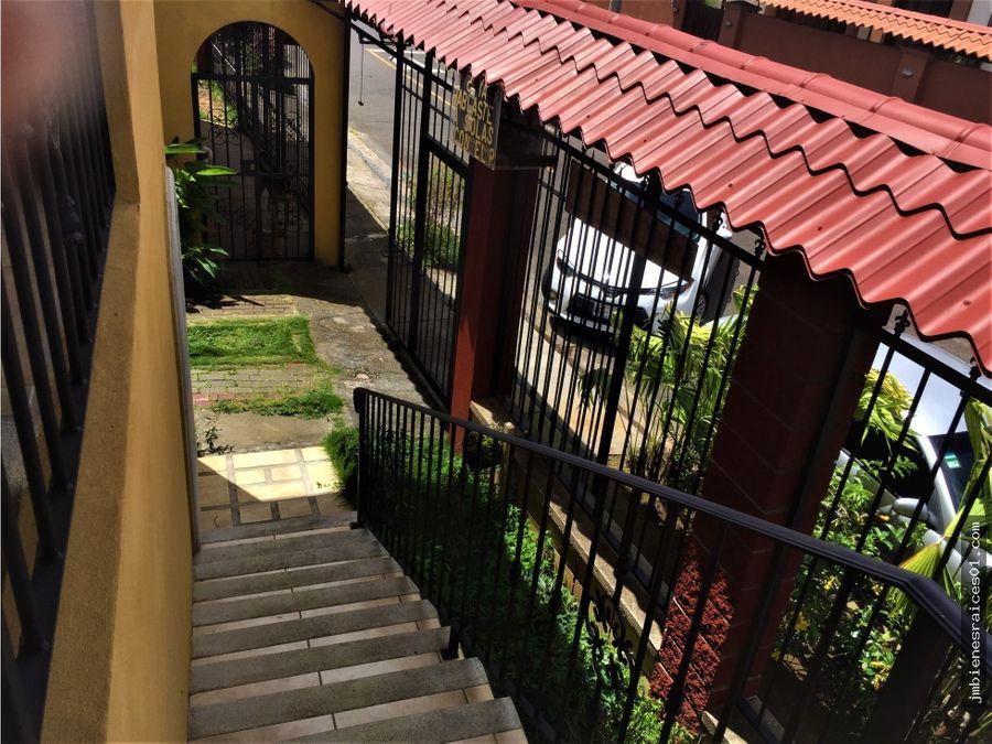 a140 apartamento amueblado san joaquin heredia