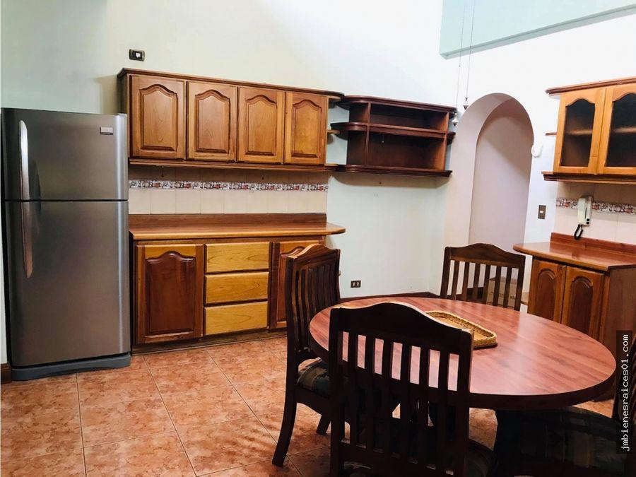 a108 se alquila casa amueblada en residencial privado