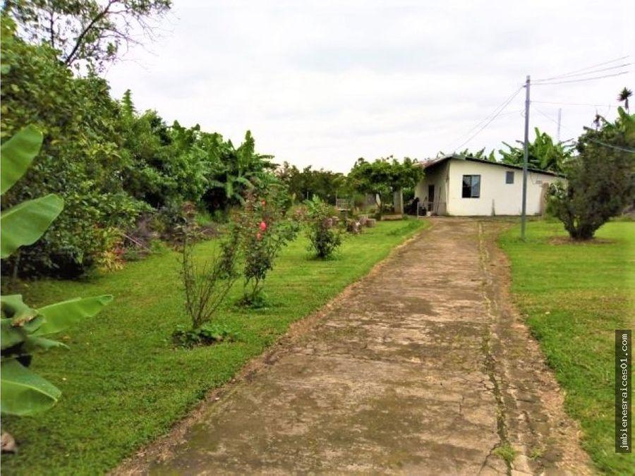 v154 vendo 3 casas en terreno de 7145 m2 san isidro heredia