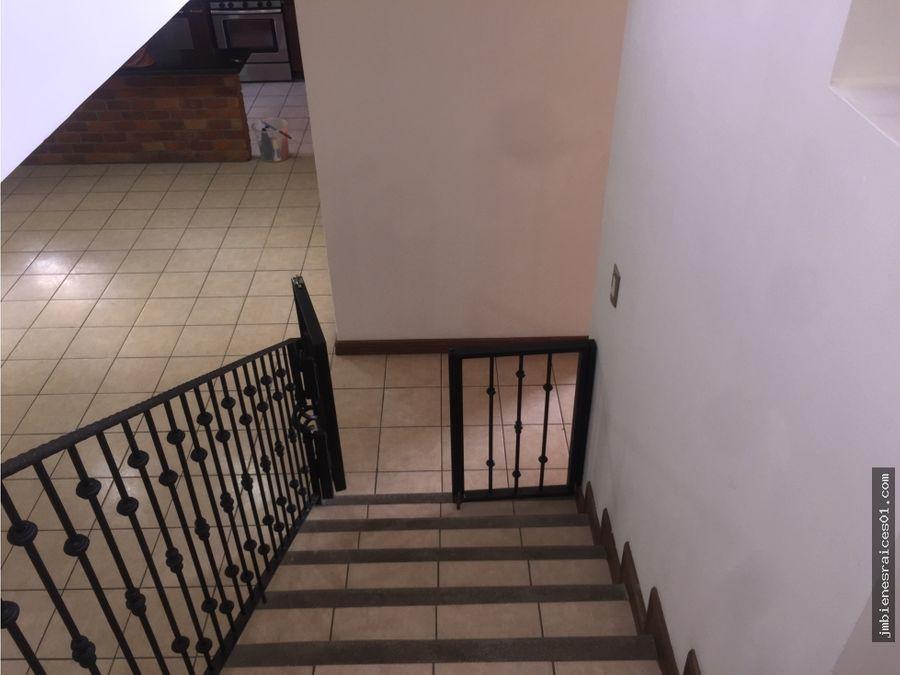 a085 se alquila casa en condominio la ribera de belen