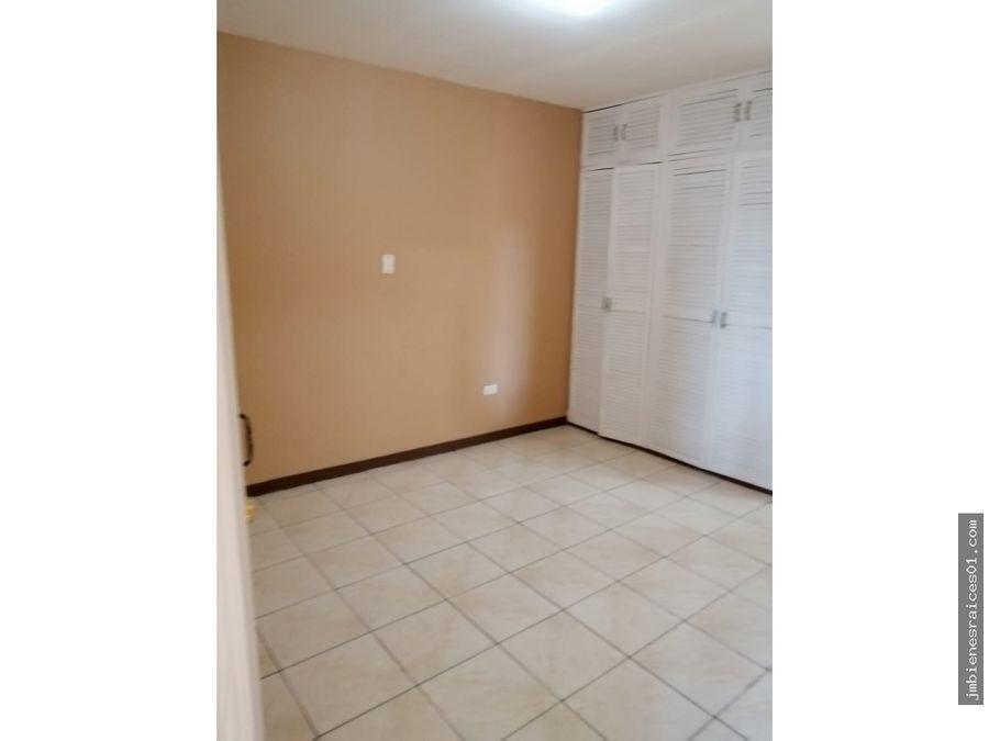 a116 apartamento en heredia centro bo auxiliadora por la una