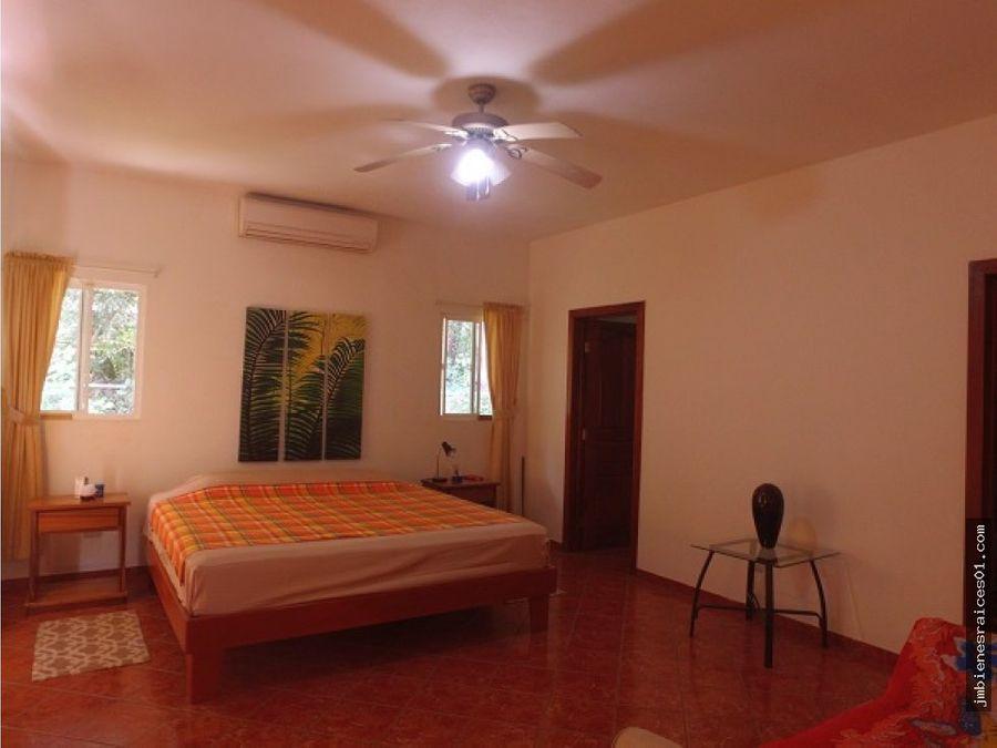 se vende villa mas apartamento en playa potrero flamingo crc