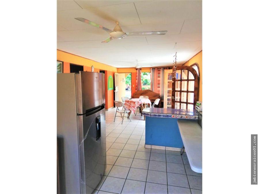 v120 casa en condominio villas sol en playa jaco
