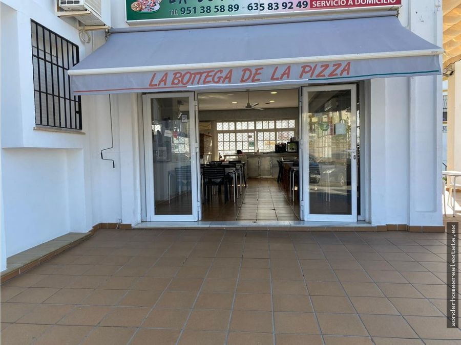 ref 201102 pizzeria en traspaso en montemar