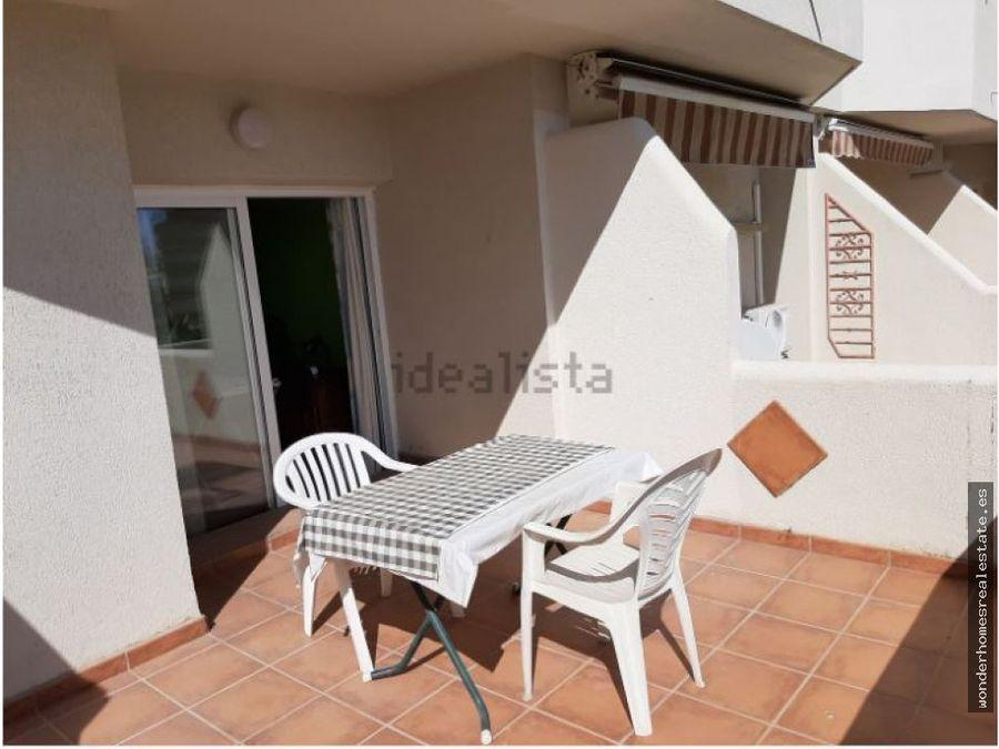 ref 210303 estudio con amplia terraza en el benal beach