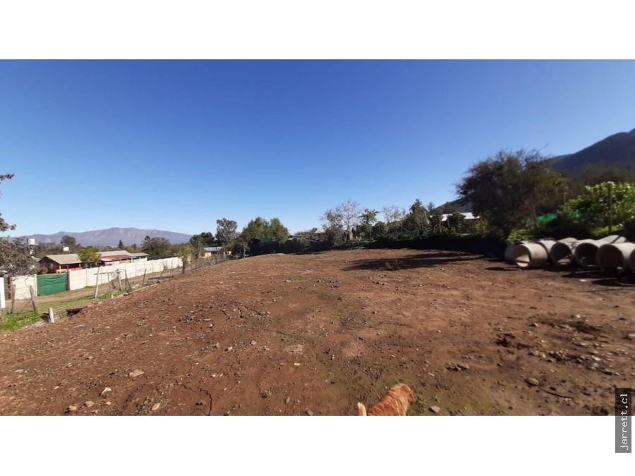 jarrett terreno en sector granizo olmue