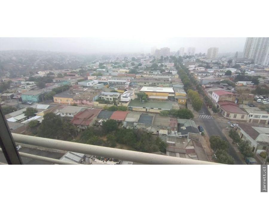 jarrett arrienda dpto ano corrido en cerro placeres valparaiso