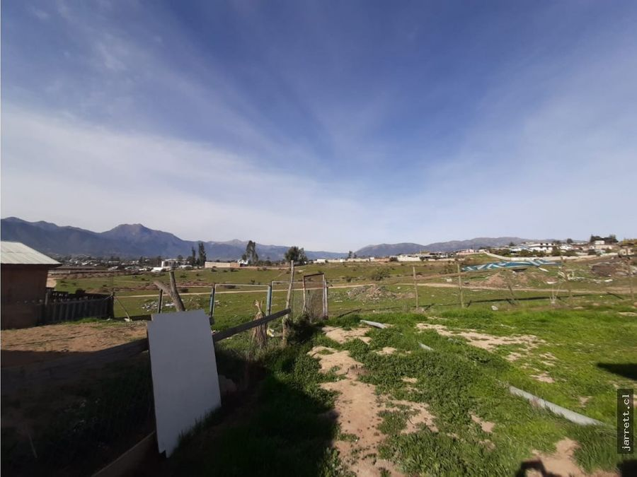 se vende terreno con casa en limache
