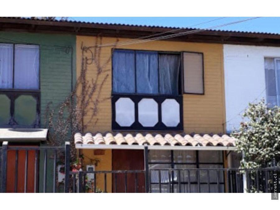 se vende casa excelente sector san francisco limache