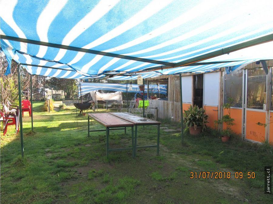 se vende terreno con cabanas en centro de olmue