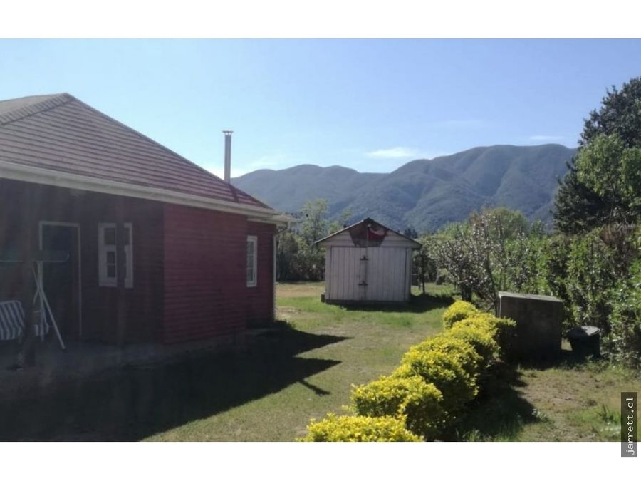 venta de terreno de 1280m2 con cabana en olmue