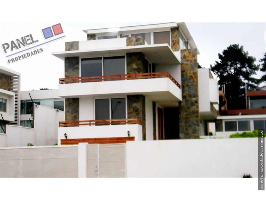 casa vista al mar bosques de montemar vc264