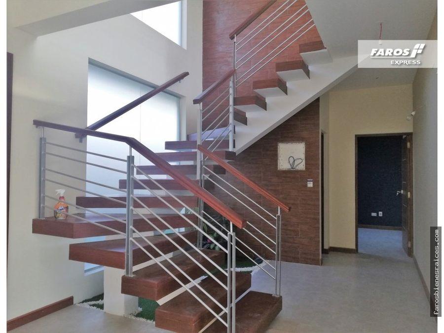 casa a estrenar estilo contemporaneo en venta