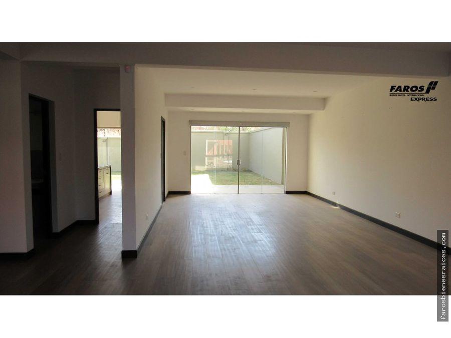 casa en condominio residencial tiquipaya cbba