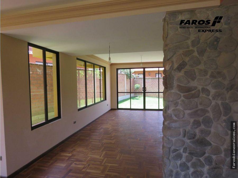 us 200000 casa condominio prox col tiquipaya