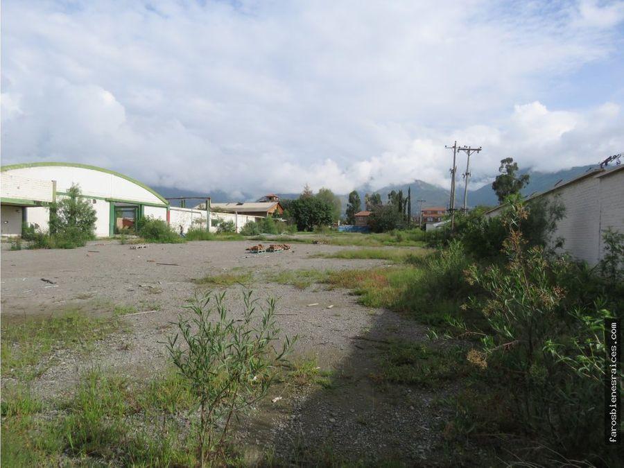 terreno industrial en el paso el paso amurallado