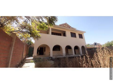 casa grande colonial km 6 av circunvalacion a sacaba
