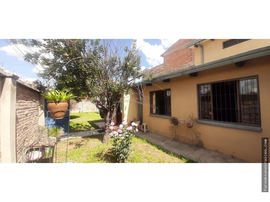 casita lote una planta oete sarcobamba cochabamba