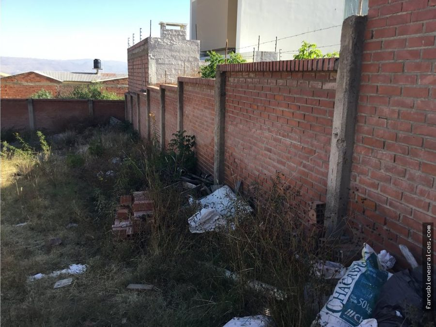 terreno en venta zona recidencial
