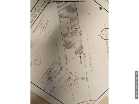 potencial terreno para su construccion