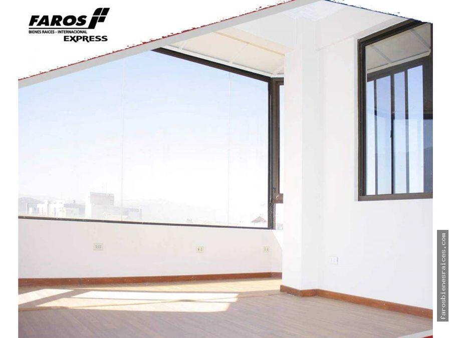 amplio penthouse con terraza y garzonear zarco