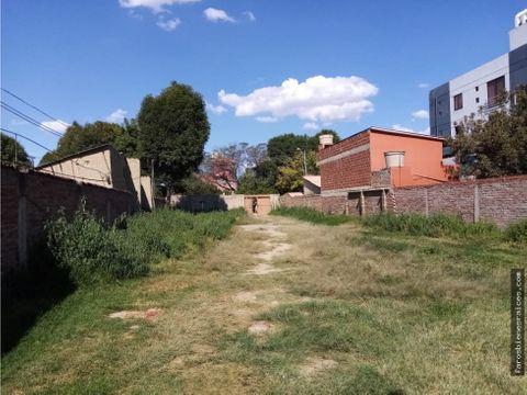 terreno para edificio en venta 2280m2 cochabamba