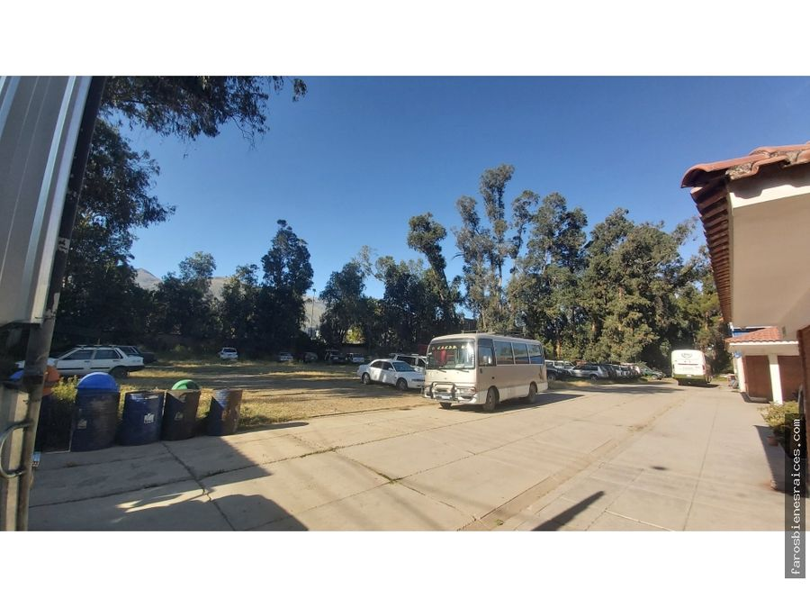 terreno alquilercon galpones oficinasgaraje 100 autos cochabamba