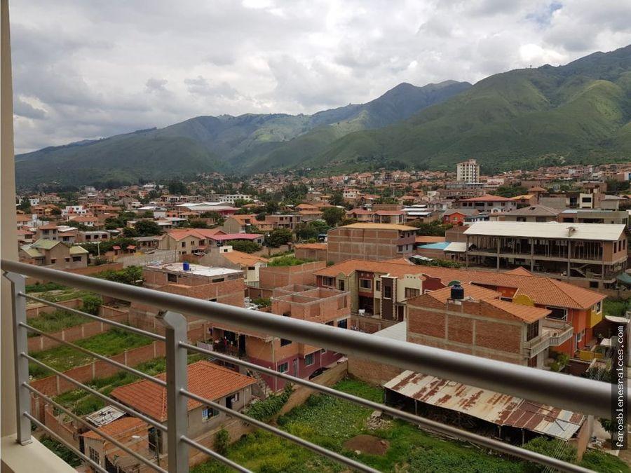departamento a estrenar km 5 en cochabamba us 93800