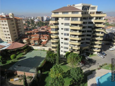penthouse con terraza y garzonier venta cochabamba