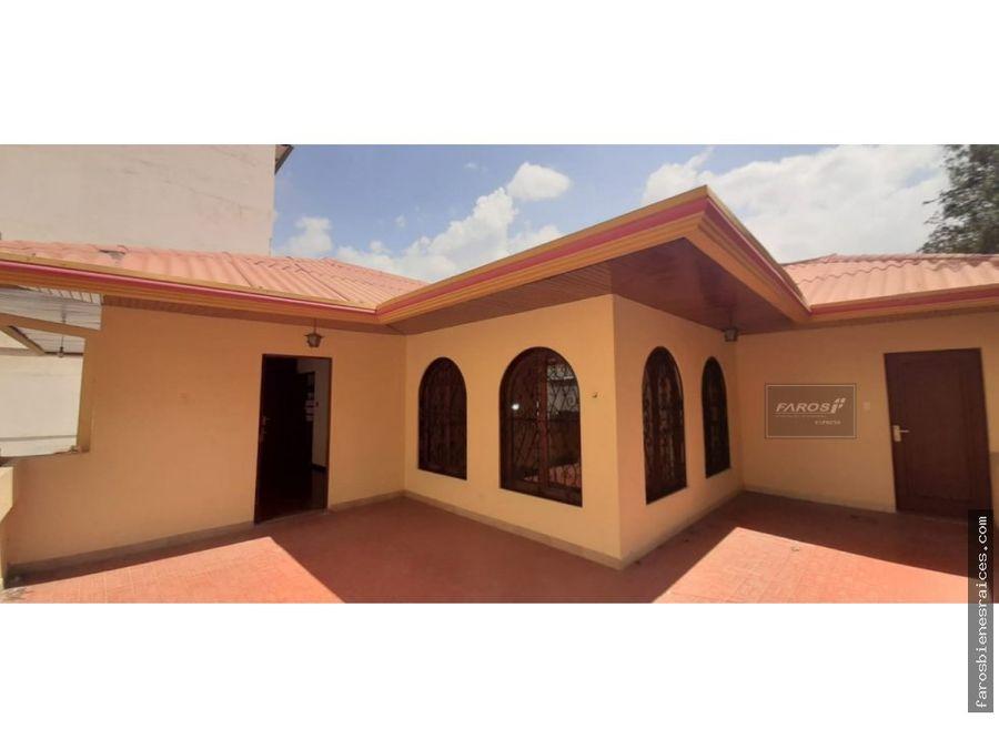 casa grande proximo el prado 12 ambientes cochabamba