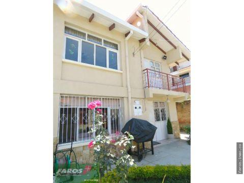 con dos departamentos casa en venta cochabamba