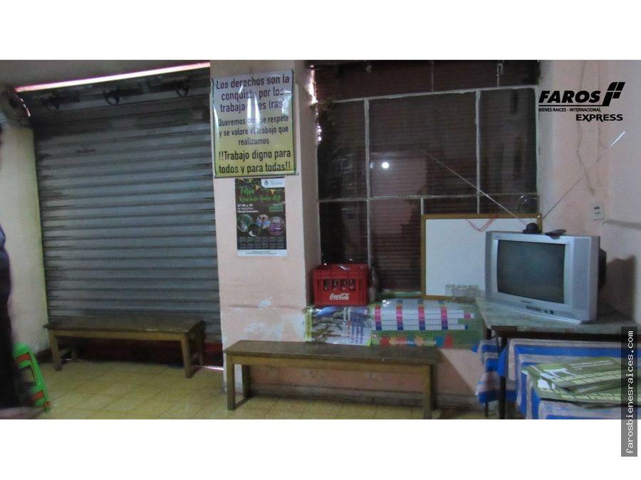 casita comercial a dos cuadras plaza 14 cbba