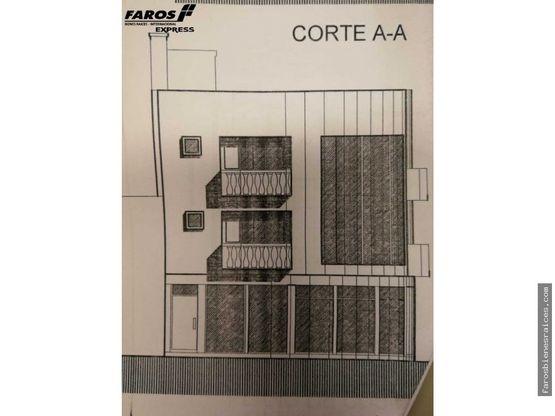 casita comercial con proyecto para 3 plantas