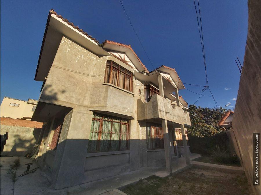 casa colonial a concluir en venta proxkm 35 av blancogalindo