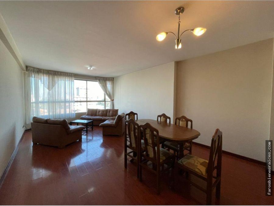 amplio departamento en alquiler cochabamba