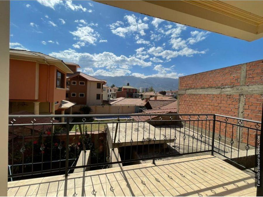 departamento amoblado cochabamba us39000