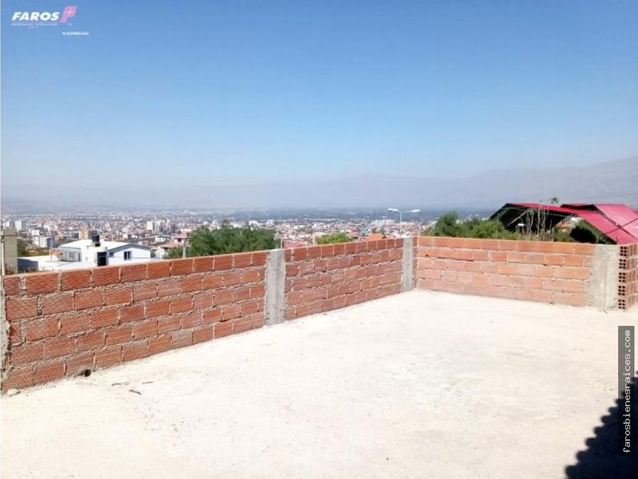 obra gruesa en venta cochabamba