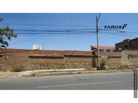 terreno residencial 606 m2 alquiler anticretico