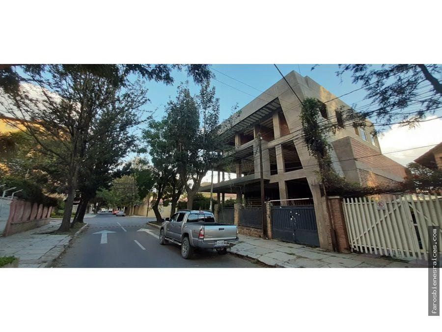 edificio de comercio y multifamiliar en venta plaza quintanilla cbba