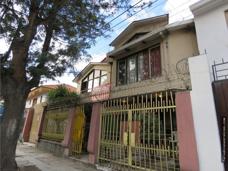 casa centrica residencial prox av salamanca en venta cochabamba