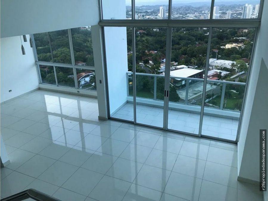 loft 2 niveles piso alto san francisco