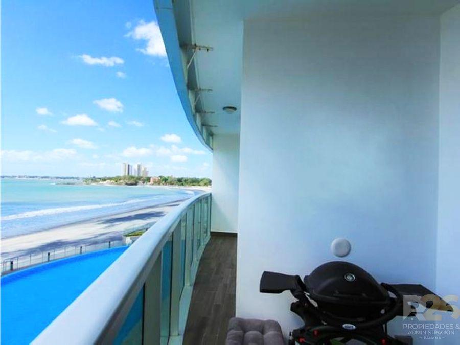 apartamentos playa gorgona frente al mar alquiler a estrenar