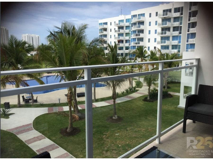 coral park v se vende apto de playa a estrenar 85 mts