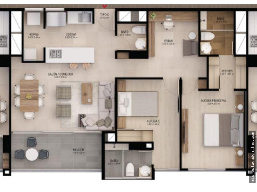 venta apartamento en envigado cumbres para estrenar cerca de todo