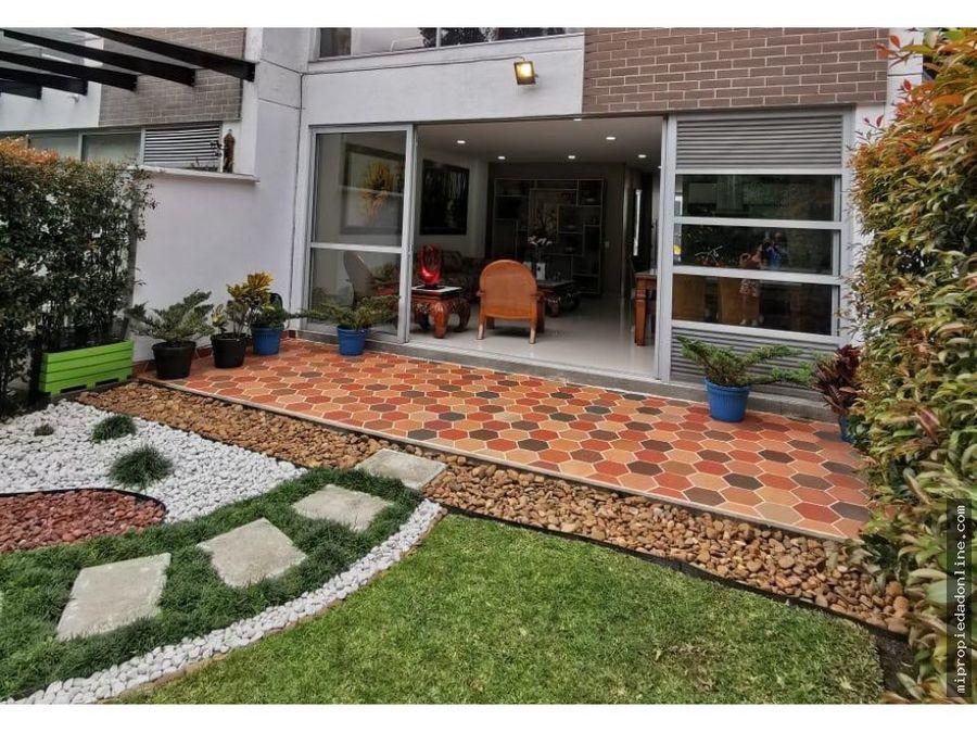venta casa moderna area verde san lucas envigado unidad completa