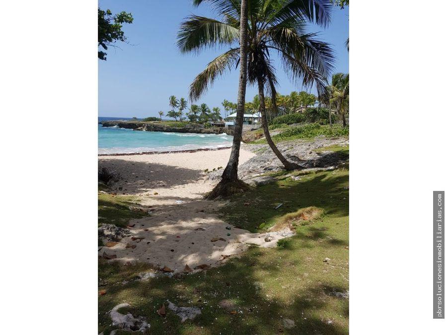 solar juan dolio frente a la playa