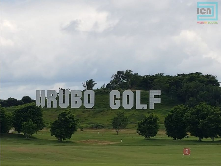 terreno en el priviligiado mod 9 urubo golf 9 7