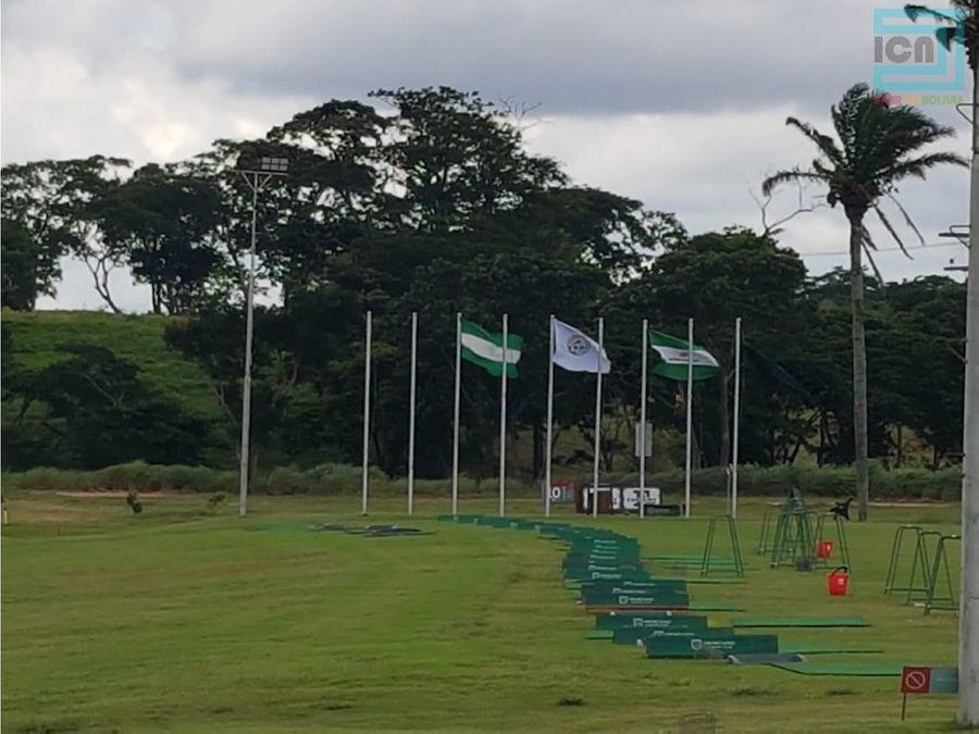 en venta imponente terreno en el m10 urubo golf