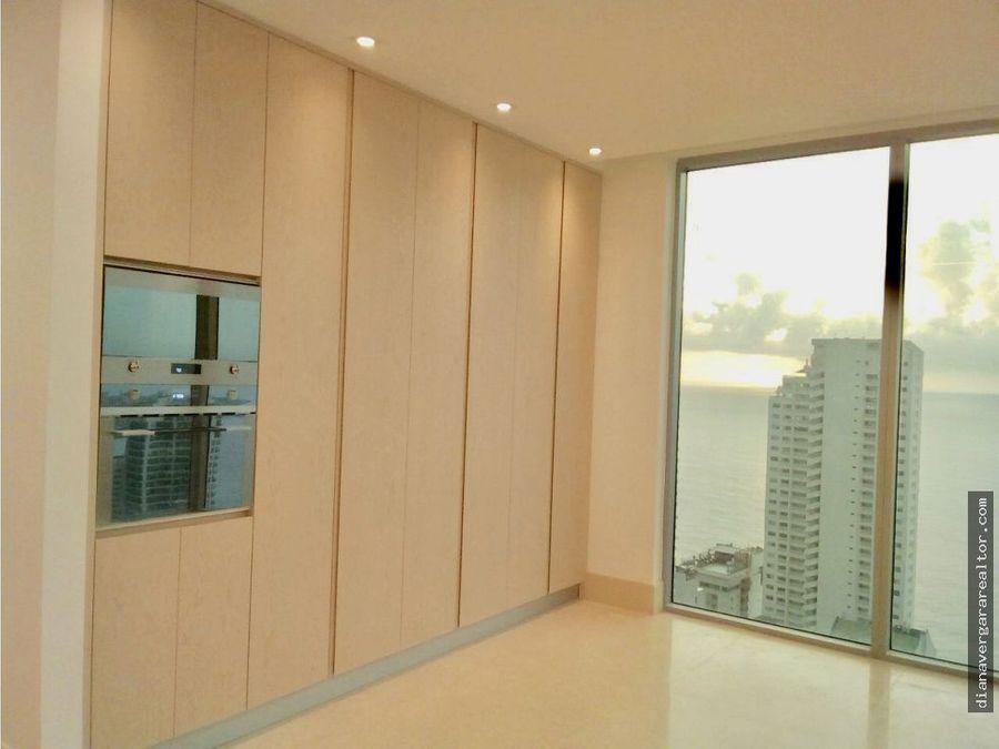 apartamento bocagrande vista a la bahia 506m2